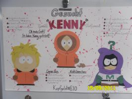 Wanted: Kenny by Dragongirl9888