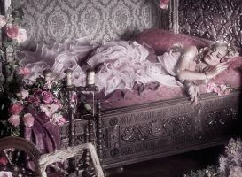 Sleeping Beauty - close-up by viona