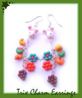 Trix Earrings by HanaClayWorks