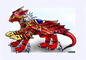 Animal Evolution, Guildramon:. by DamienMuerte