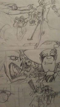 The Comic Rough Comic pg7 by editorblue