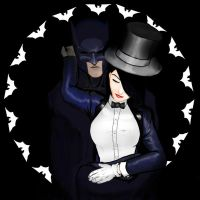 Batman_Zatanna revisited by sladeone