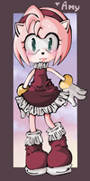 AMY ROSE IS HERE BITCHES by CommandoAmando