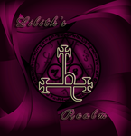 Lilith's Realm new logo/5th Anniversary. by Villenueve