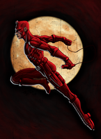 D is for DareDevil by PeterMan2070