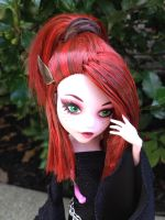 Kae, custom doll by kaelstra