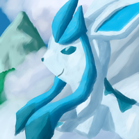 Glaceon by HoneyShuckle