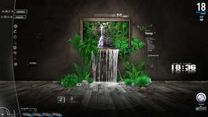 Nature Phanton 1.7 Rainmeter SKIN by PhantonII