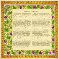 Book of Shadows, Mabon Page 3 by Brightstone