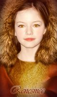 Renesmee Cullen (nessie) by VCRetouching