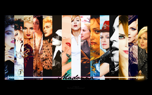 Madonna Wallpaper by Neko-Vi