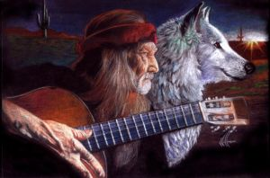 Willie and the wolf by choffman36