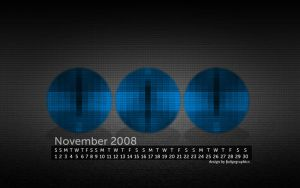 November 08 wallpaper set by fudgegraphics