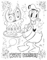 Donald Duck... Happy Birthday by KneonT