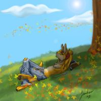 Enjoying the last days... by Songficcer
