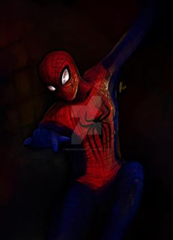 Spidey. by bekahwithers