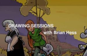 Drawing Sessions  1 by Hesstoons