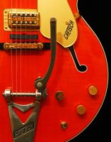 Orange Gretsch by robgbob