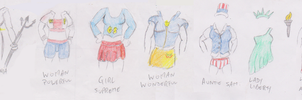 Juniors outfits for Tara by WhippetWild