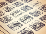 iPhone App Icon Sketches - Stage 1 by Ramotion