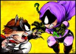 The Coon Vs. Mysterion by AmyJusta