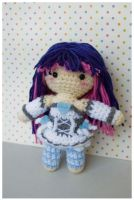 stocking amigurumi by pirateluv