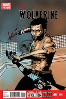 :: The Wolverine Comicbook Cover (with text) by IronWarrior777