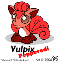 Vulpix, Peppered by MalamiteLtd