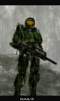 Master Chief by justincurrie