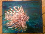 Lion Fish by Zombieartz