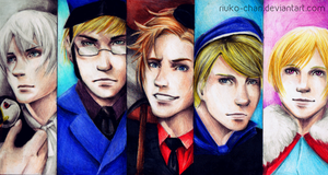Nordic 5 by Riuko-chan