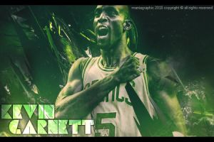 Kevin Garnett Signature by ManiaGraphic