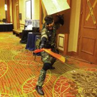 Anime Fest 2014: Snake using the Scissor Blade by Snake-n-DA-boX