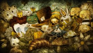alice in wonderland by berkozturk