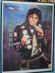 My Michael Jackson Bad tour poster. by conkeronine