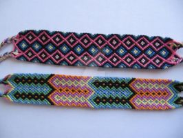 friendship bracelets 6 by koraline