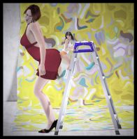 Ladder for Ass-Kissing by Fierce-Invalid