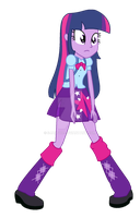 Equestria Girls - Twilight Sparkle by SJArt117