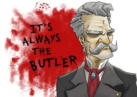 It's Always the Butler by Morier23