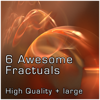 6 HD Fractals Free by peewee1002