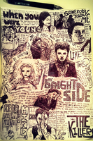 The Killers - Sketch Collage by curiosityorarrogance