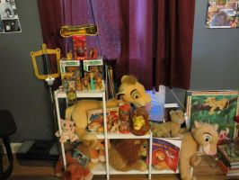 Lion King plushie collection by SolitaryGrayWolf