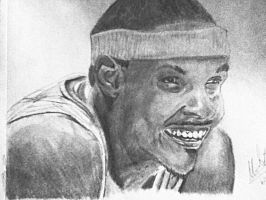 Carmelo Anthony by MarcusHECANDRAWBoggs