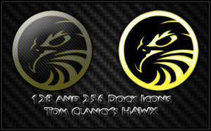 Tom Clancy's HAWX Dock Icons by Timmie56