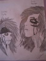 Ashley Purdy and Andy Biersack by UnzipYourMonster