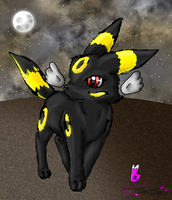 Shade the Umbreon by Filly-Milly