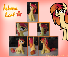 Autumn Leaf :Sculpt: by Ruby-Sunrise
