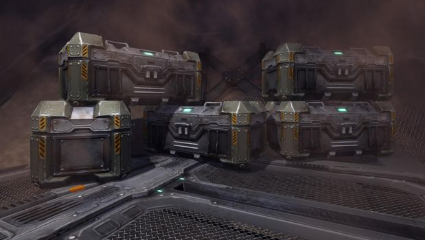 sci fi crates by Syncrasis