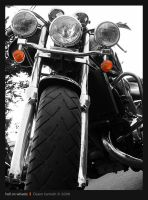 Hell on wheels by pixelbudah