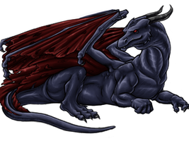Mimidragon Coloured by Draconigenae666